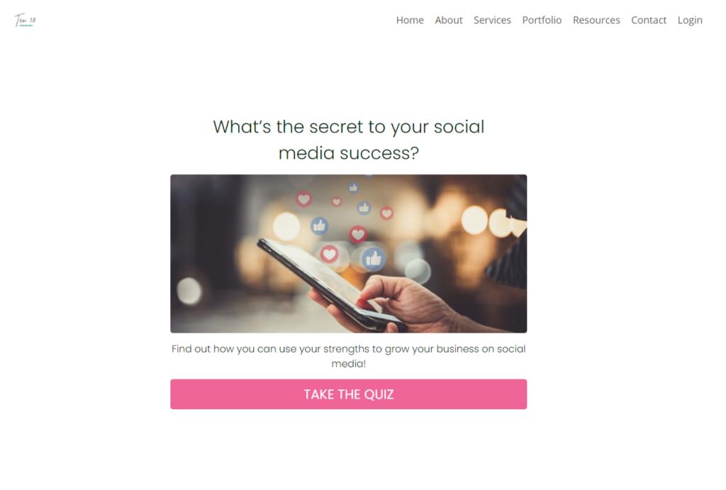 social media strength quiz cover