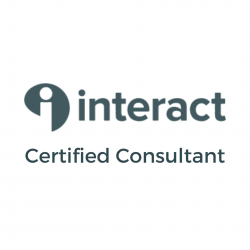 interact logo with Certified Consultant